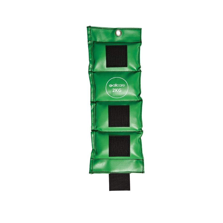 AllCare Vinyl Ankle Weight 2kg Green