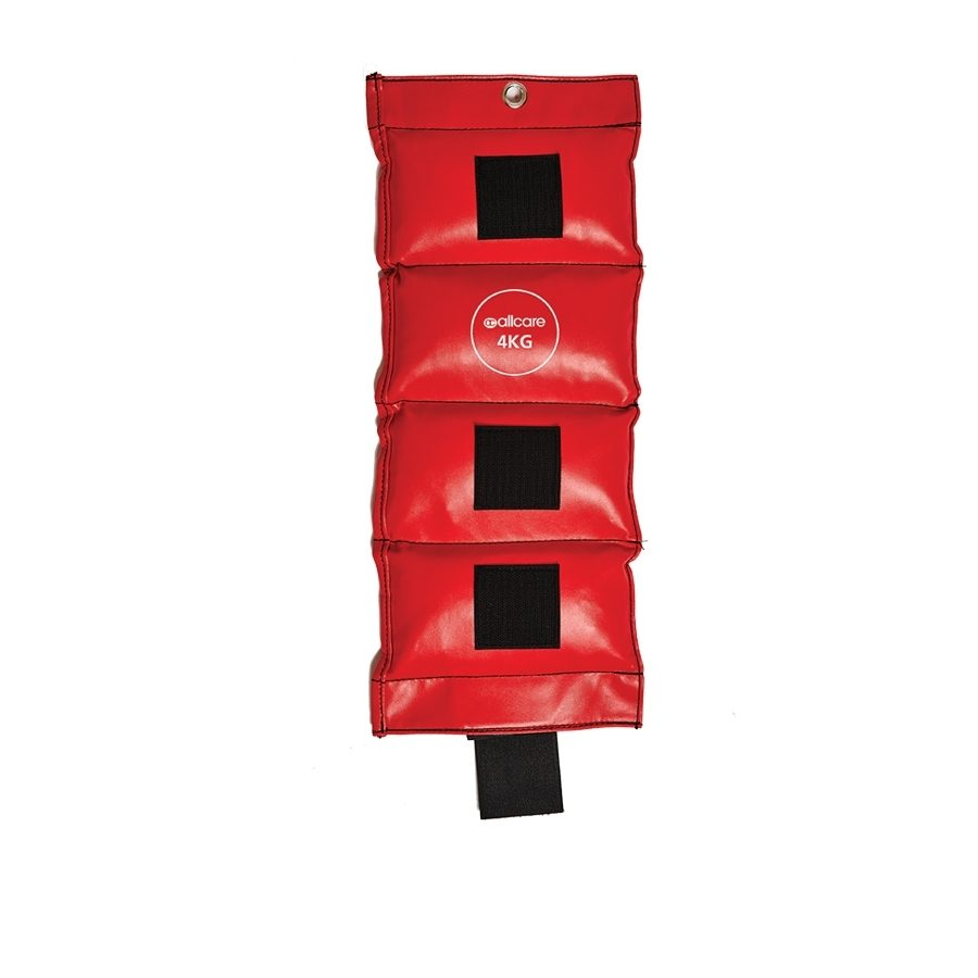 AllCare Vinyl Ankle Weight 4kg Red